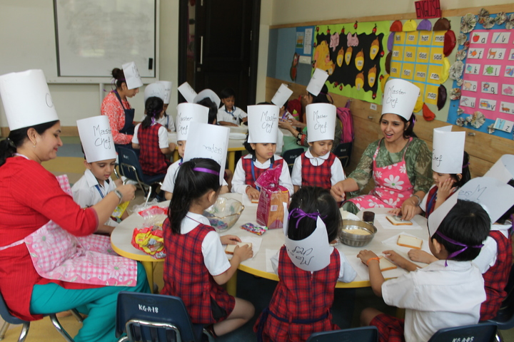 Ambience Public School-Cooking Classes