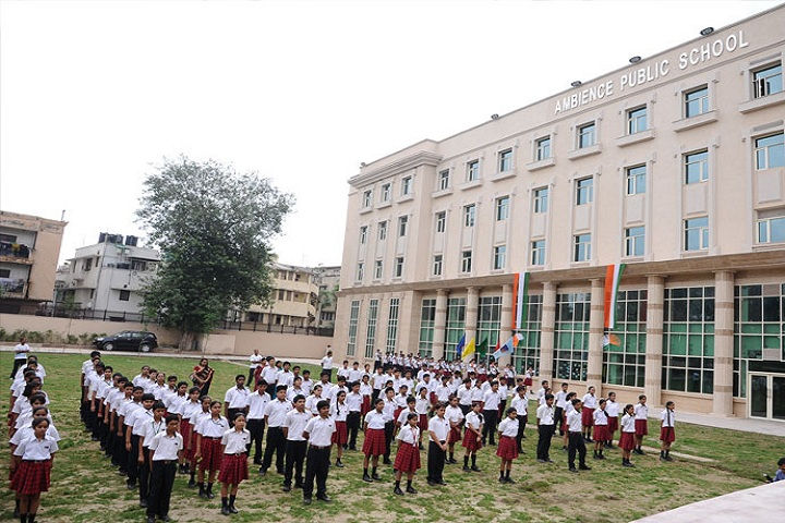 Ambience Public School- Students