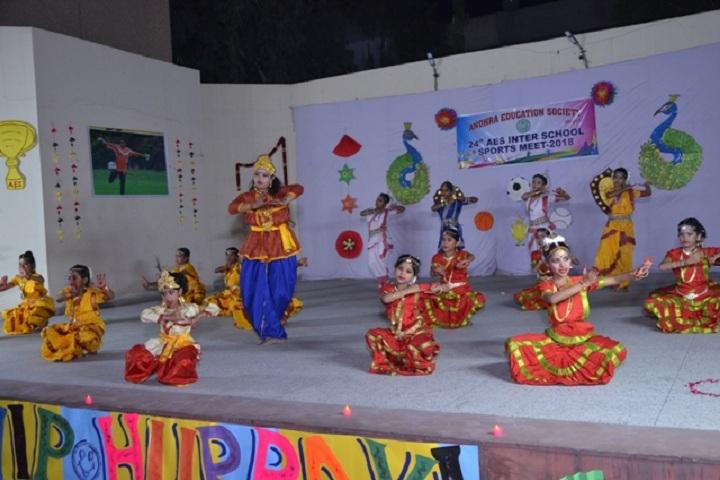 Andhra Education Society Senior Secondary School-Inter Sports Meet