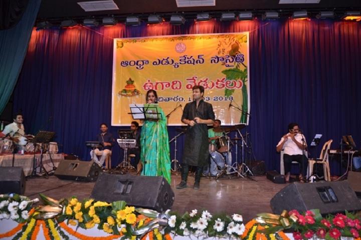 Andhra Education Society Senior Secondary School-Ugadi Celebrations