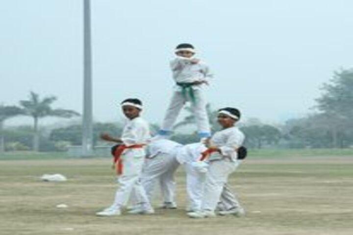 Bharat Ram Global School-Karate