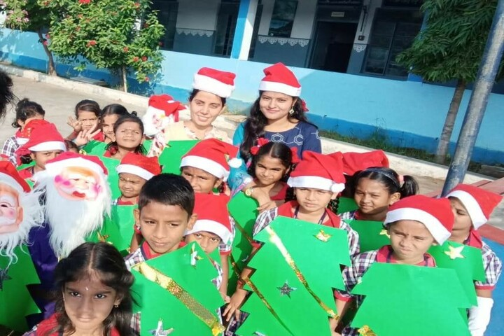 Kendriya Vidyalaya No 2-Christmas Celebrations