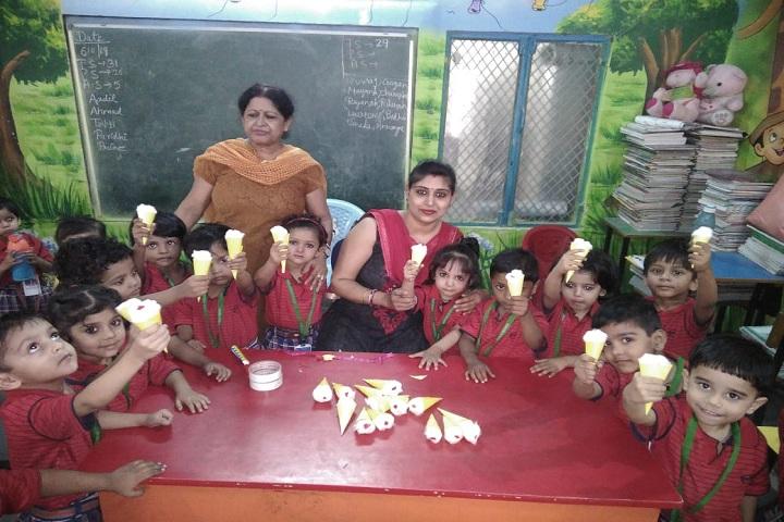 Angel Public School-Craft Activities