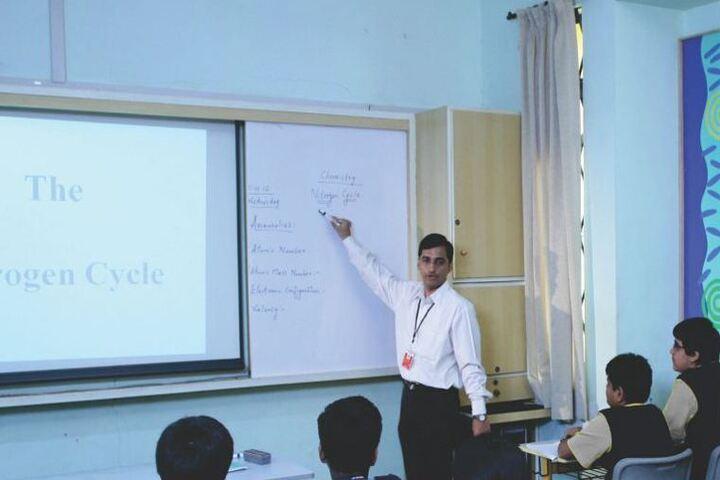 VIBGYOR Rise School-Digital Classrooms