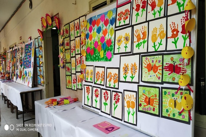 Anglo Arabic Model School-Art and Craft
