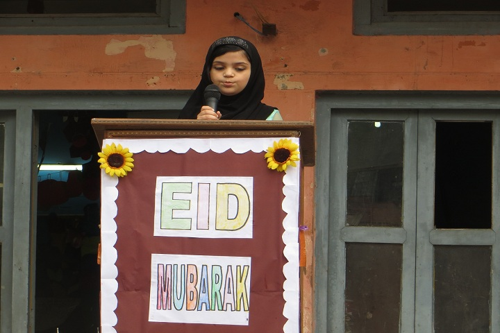 Anglo Arabic Model School-Eid Mubarak