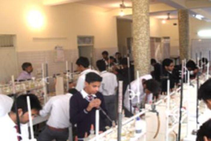 Anglo Arabic Senior Secondary School-Chemistry Lab