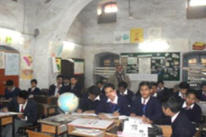 Anglo Arabic Senior Secondary School-Library