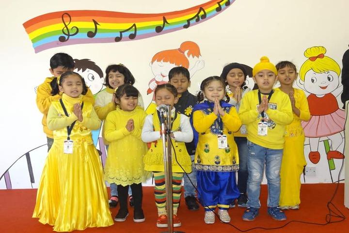 Doon Public School-Yellow Day