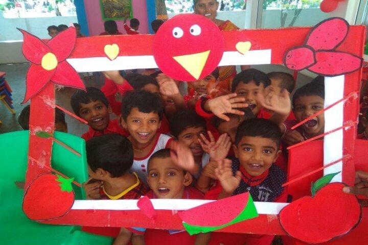 Shree Gurukulam Public School-Red Day Celebration