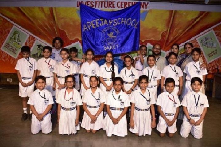 Apeejay School Saket-Investiture Ceremony
