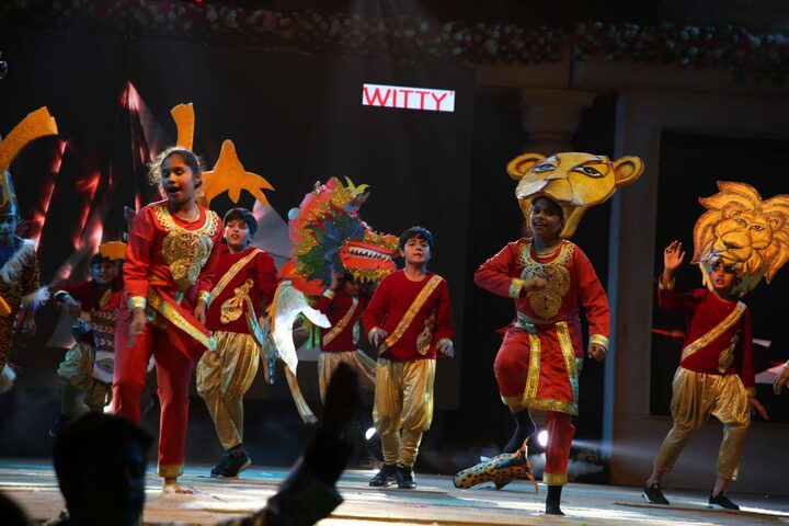 Witty International School-Dance