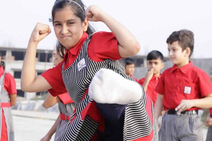 SVKM School-Karate