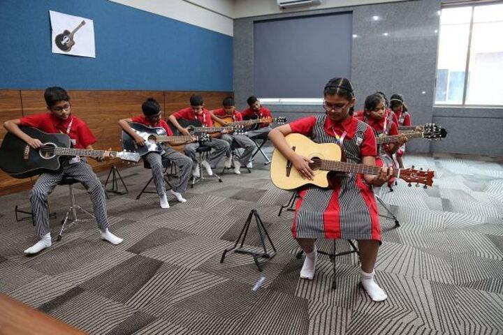 SVKM School-Music Room