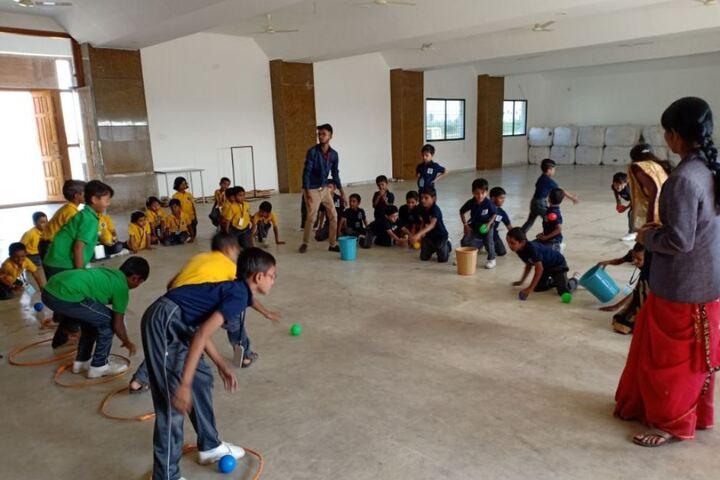 Baburao Maruti Wakode International School-Games
