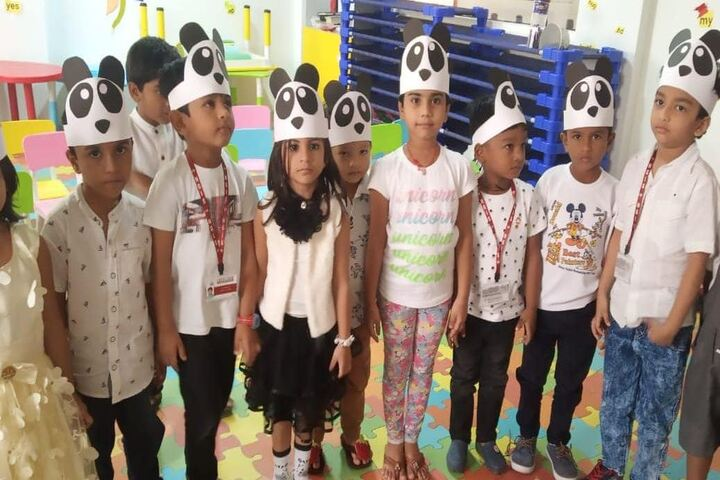 NextGen International School-Black Panda Day
