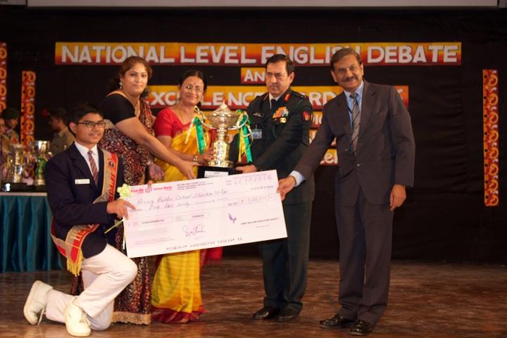 Army Public School-National Level English Debate