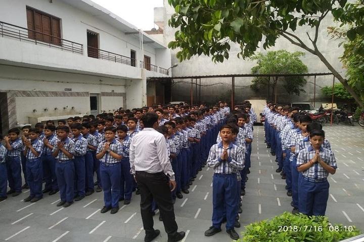 Arun Modern Public School-Assembly View