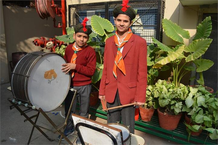 Arwachin Bharti Bhavan Senior Secondary School-School Band