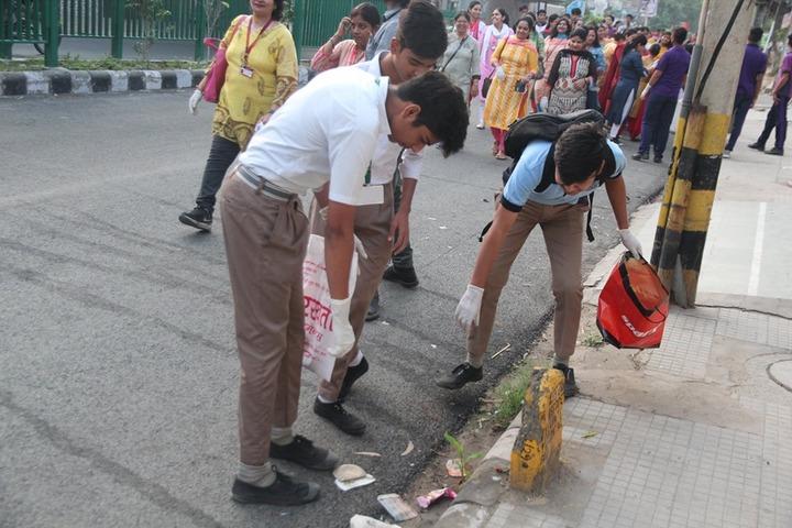 Arwachin Bharti Bhavan Senior Secondary School-Cleanliness