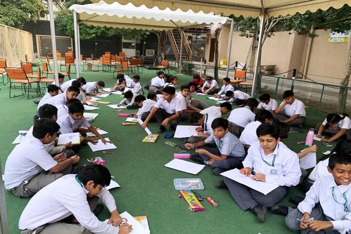 Arwachin Bharti Bhavan Senior Secondary School-Drawing Competition