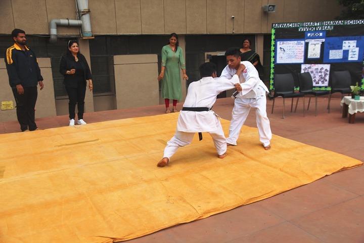 Arwachin Bharti Bhavan Senior Secondary School-Karate