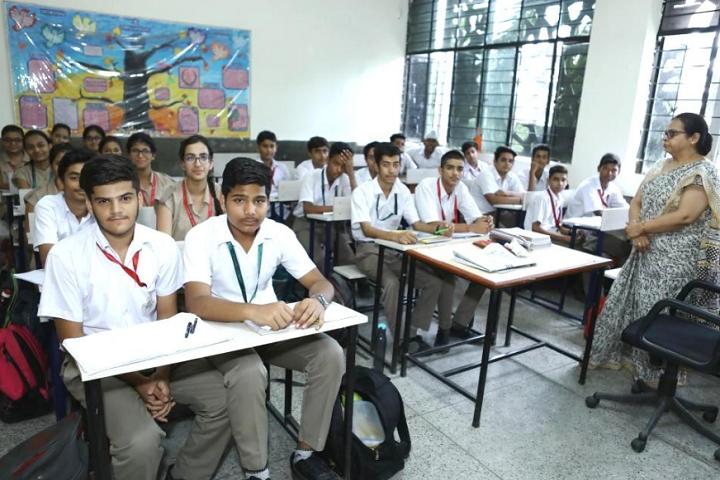 Arwachin Bharti Bhavan Senior Secondary School- Class Rooms