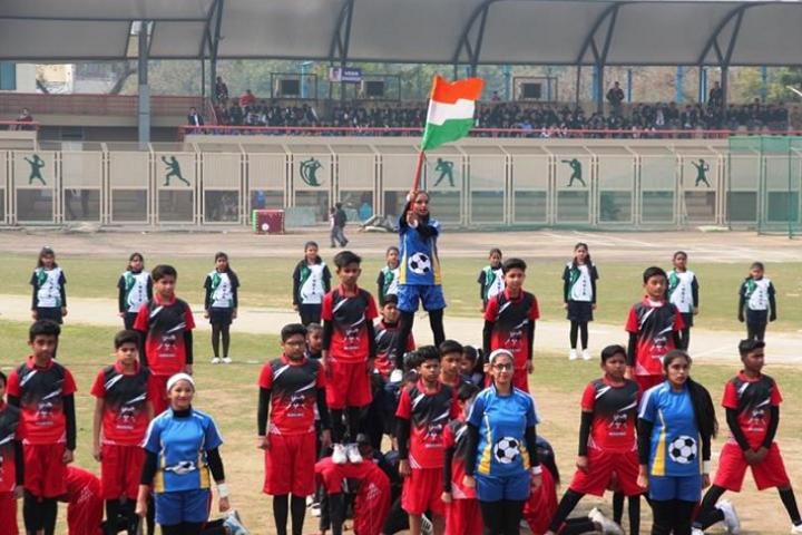 Arwachin Bharti Bhavan Senior Secondary School- Independence Day
