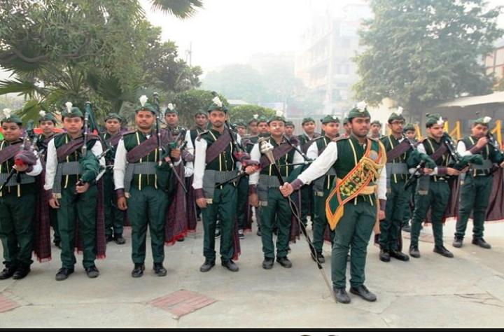 Arwachin Bharti Bhavan Senior Secondary School- Parade