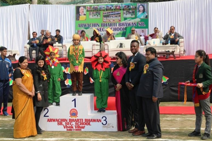 Arwachin Bharti Bhavan Senior Secondary School- Prize Distribution