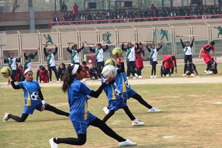 Arwachin Bharti Bhavan Senior Secondary School- Sports Day