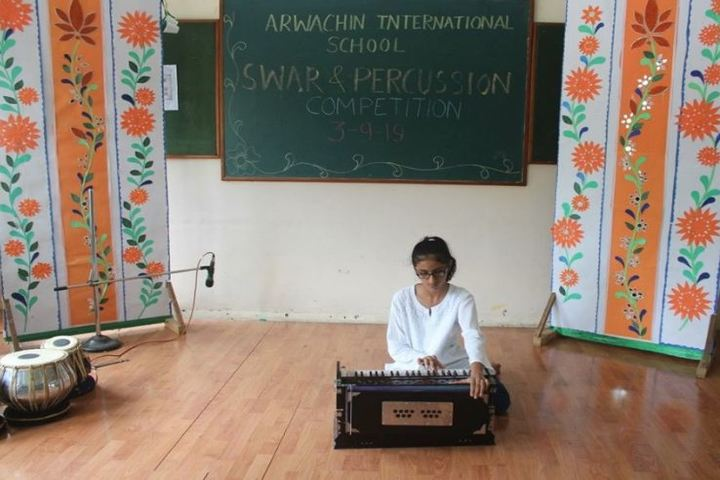 Arwachin International School-Music Activity