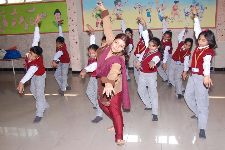 B G S International Public School-Dance