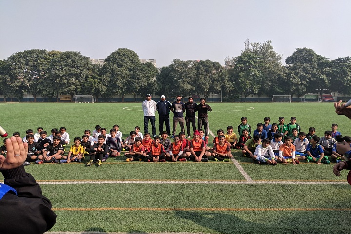 B G S International Public School-Football Ground