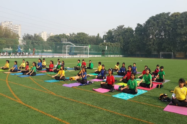 B G S International Public School-Yoga