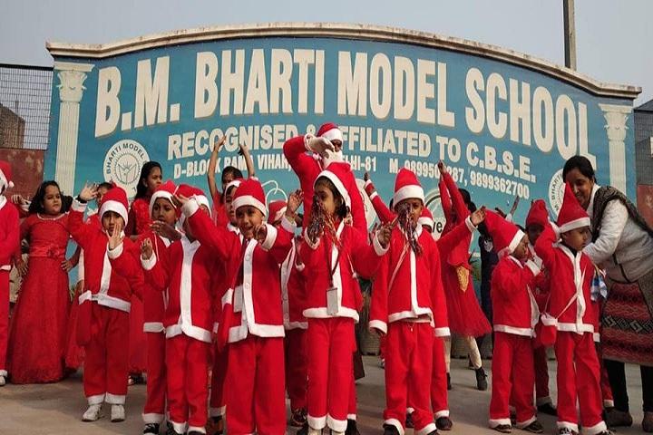 B M Bharti Model School-Christmas Day
