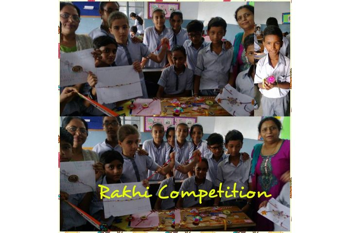 B R Mehta Vidya Bhawan Senior Secondary School-Rakhi competition