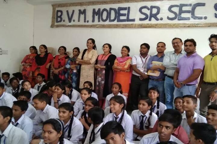 BVM Model Senior Secondary School-Students