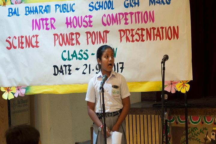 Bal Bharati Public School-Presentation