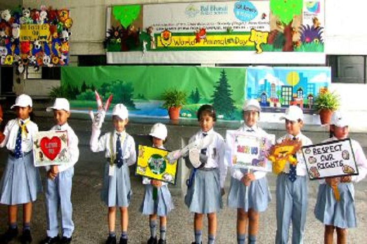 Bal Bharati Public School-World Animal Day