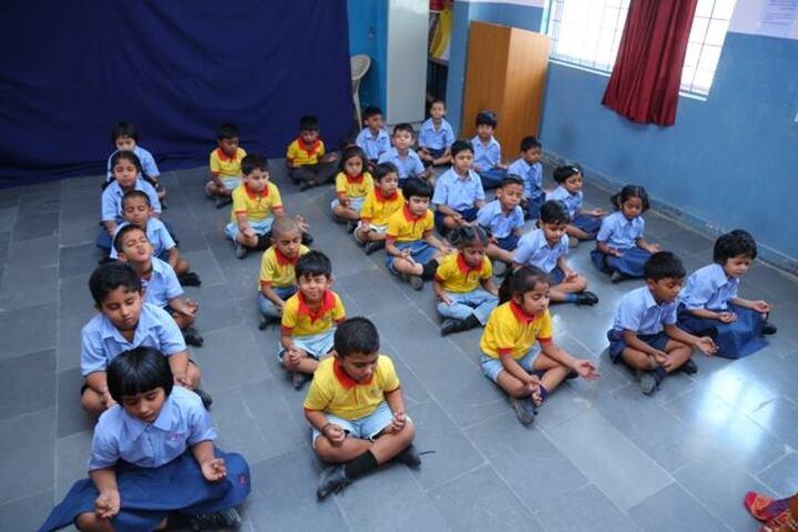 Kotwal School-Meditation class