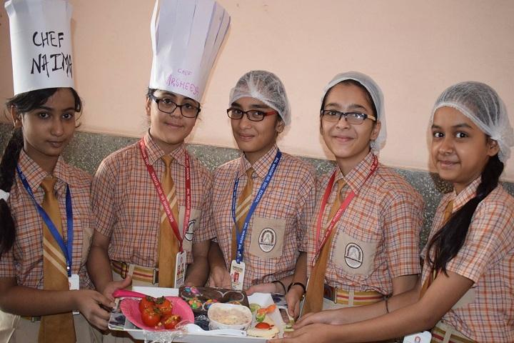 Bal Mandir Senior Secondary School-Food Making