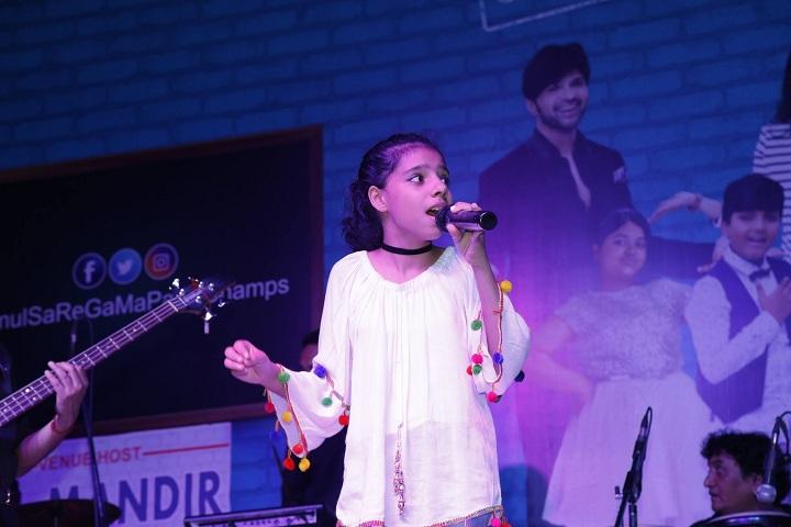 Bal Mandir Senior Secondary School-Singing Competition