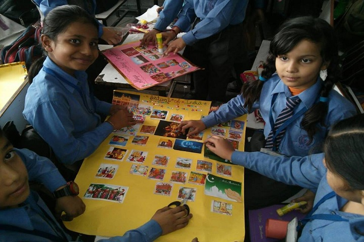 Balvantray Mehta Anguri Devi Shersingh Memorial Academy-Science exhibition