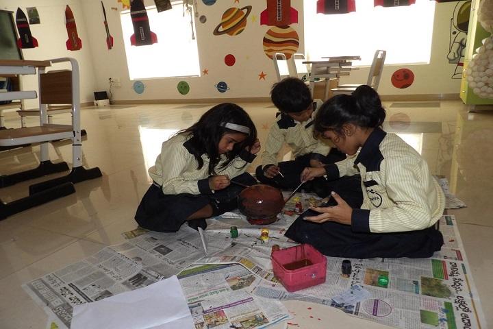 Lakshya International School-Art and craft