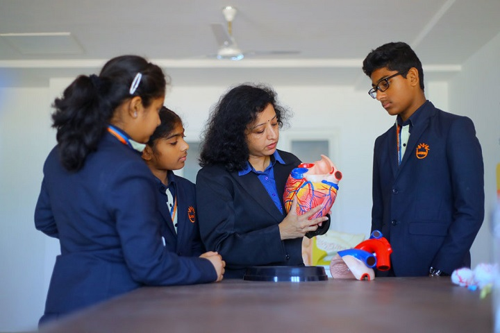 Lakshya International School-Biology Lab