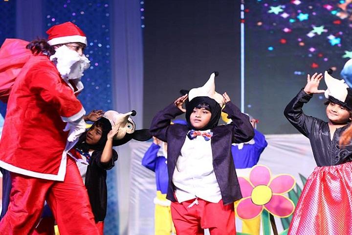 Lakshya International School-Christmas celebrations