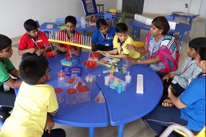 Lakshya International School-Maths Lab