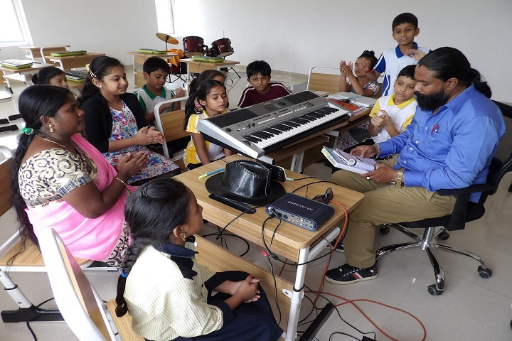 Lakshya International School-Music Room