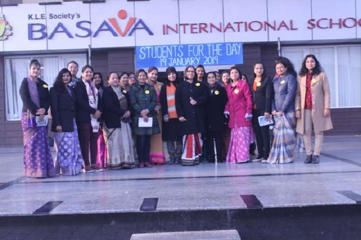 Basava international School-Student day celebrations
